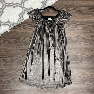 Everly Metallic Dress Size Medium